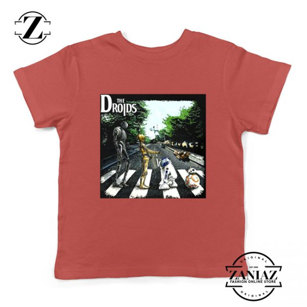 The Droids Kids Tshirt The Abbey Road Star Wars Youth Tee Shirts
