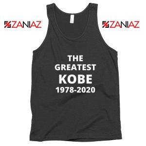 The Greatest Kobe Black Tank Top