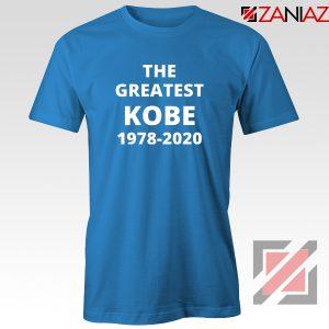 The Greatest Kobe Blue Tshirt