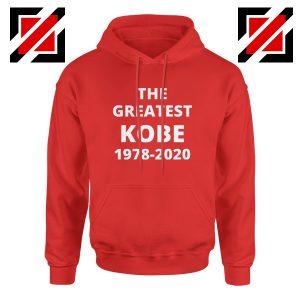 The Greatest Kobe Red Hoodie