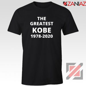 The Greatest Kobe Tshirt Black Mamba 24 Tee Shirts S-3XL