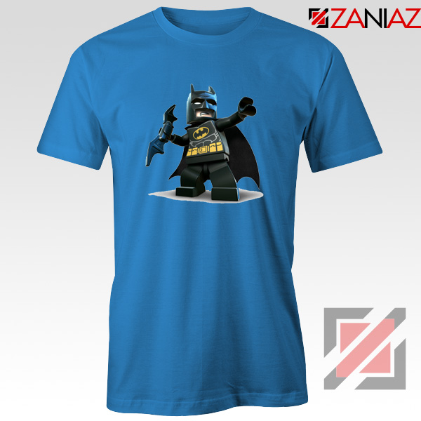 The Lego Batman Blue Tshirt