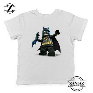 The Lego Batman White Kids Tshirt