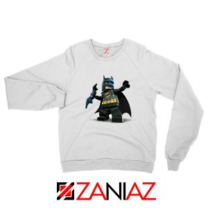 The Lego Batman White Sweatshirt