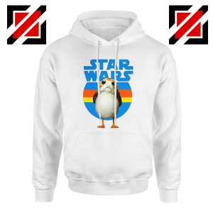 The Porg Hoodie Jedi Master Star Wars Hoodies S-2XL White