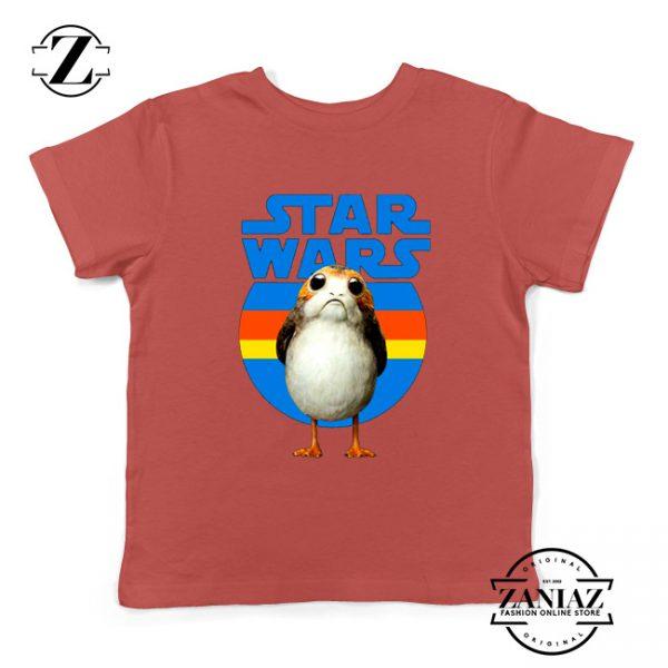 The Porg Kids Tshirt Jedi Master Star Wars Best Youth Tee Shirts S-XL
