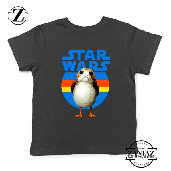 The Porg Kids Tshirt Jedi Master Star Wars Best Youth Tee Shirts S-XL Black