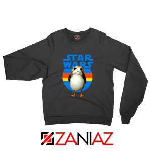 The Porg Sweatshirt Jedi Master Star Wars Sweaters S-2XL Black