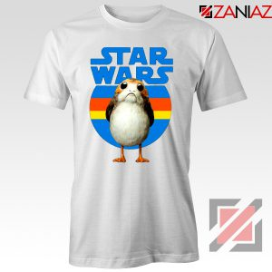 The Porg Tee Shirt Jedi Master Star Wars Tshirts S-3XL White
