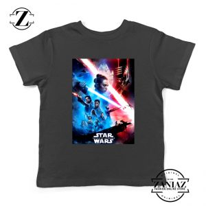 The Rise Of Skywalker Poster Kids Tshirt Star Wars Youth Tee Shirts S-XL Black