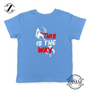 This Is The Way Youth Tshirt The Mandalorian Kids Tee Shirts S-XL