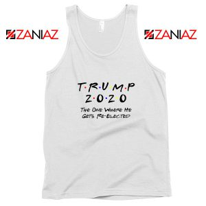 Trump 2020 Tank Top Cheap Republican Gift Tops S-3XL