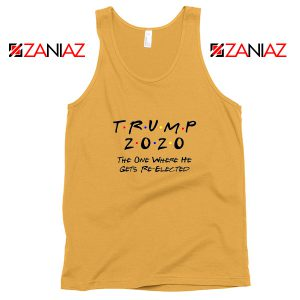 Trump 2020 Tank Top Cheap Republican Gift Tops S-3XL Sunshine
