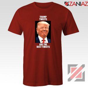 Trump Tweets Tshirt Political Meme Funny Tee Shirts S-3XL Red