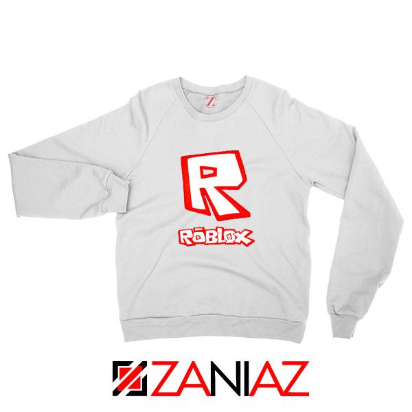 Video Game Design White Sweatshirt Roblox