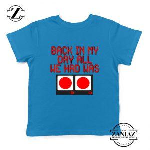 Video Game Kids Tshirt Nintendo Gifts Youth Tee Shirts Size S-XL