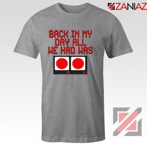 Video Game Tshirt Nintendo Gifts Tee Shirts Size S-3XL