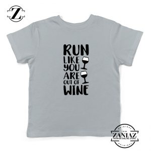 Womens Running Kids Shirts Funny Gym Best Youth T-Shirt Size S-XL