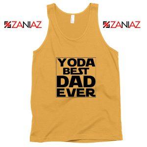 Yoda Best Dad Tank Top Starwars Quote Tops S-3XL