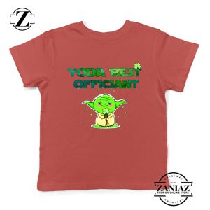 Yoda Best Officiant Kids Tshirt Star Wars Gift Youth Tee Shirts S-XL