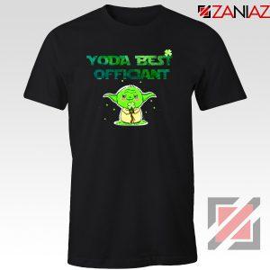 Yoda Best Officiant Tshirt Star Wars Gift Tee Shirts S-3XL