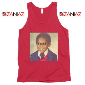 Young GOAT Kobe Red Tank Top