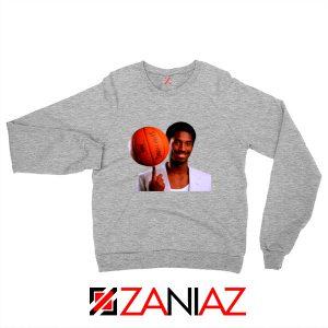 Young Kobe Spin The Ball Sweatshirt NBA Sweaters Gifts S-2XL