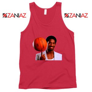 Young Kobe Spin The Ball Tank Top NBA Tops Gifts S-3XL
