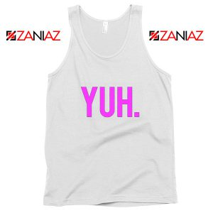 Yuh Ariana Grande White Tank Top Pop