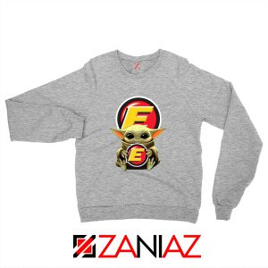 Baby Yoda Estes Express Lines Sweater