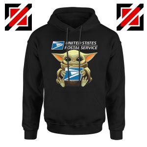 Baby Yoda Hug Postal Service Hoodie