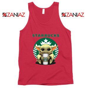 Baby Yoda Hug Starbucks Tank Top