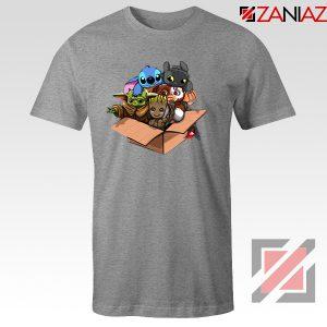 Baby Yoda Kawaii Team Grey Tshirt