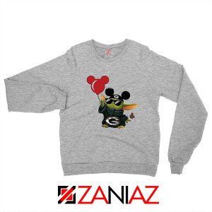 Baby Yoda Mickey Mouse Balloons Sweater