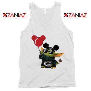 Baby Yoda Mickey Mouse Balloons Tank Top