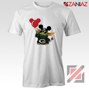 Baby Yoda Mickey Mouse Balloons Tshirt