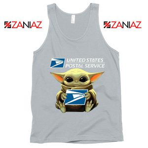 Baby Yoda United States Postal Service Grey Sweatshirt