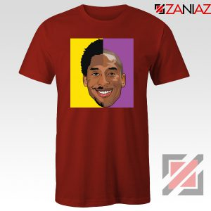 Basketball Kobe Bryant Red Tee Shirt
