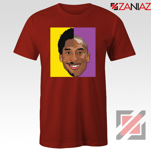 Basketball Kobe Bryant Red Tee Shirt