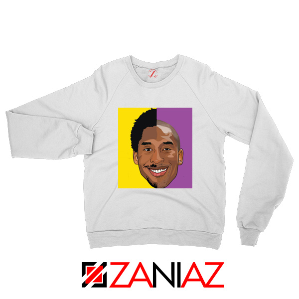 Basketball Kobe Bryant White Sweater