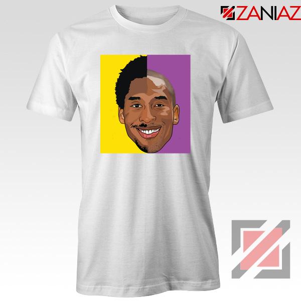 Basketball Kobe Bryant White Tee Shirt
