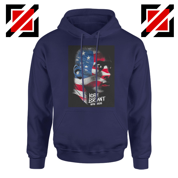 Best Kobe American Flag Navy Hoodies