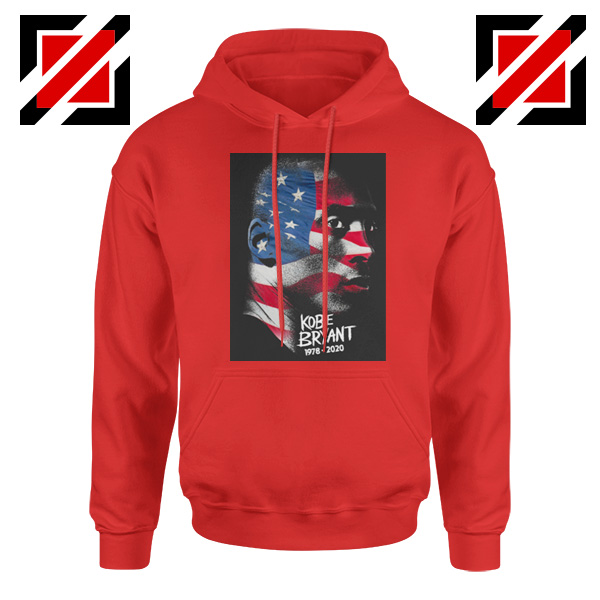 Best Kobe American Flag Red Hoodies