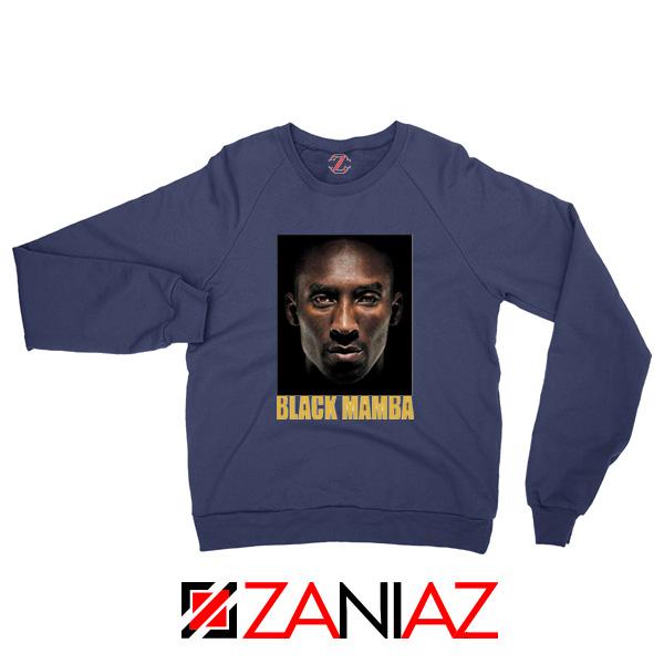 Black Mamba Kobe Bryant Navy Sweatshirt