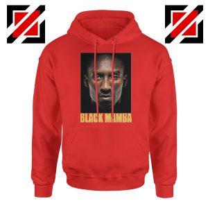 Black Mamba Kobe Bryant Red Hoodie
