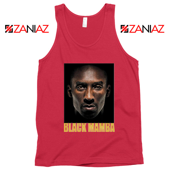 Black Mamba Kobe Bryant Red Tank Top