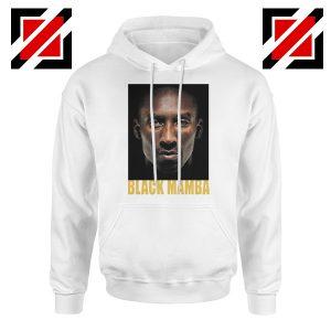 Black Mamba Kobe Bryant White Hoodie