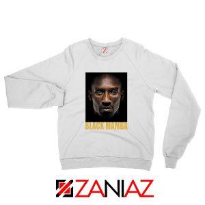 Black Mamba Kobe Bryant White Sweatshirt