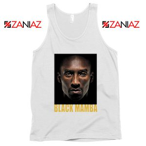 Black Mamba Kobe Bryant White Tank Top