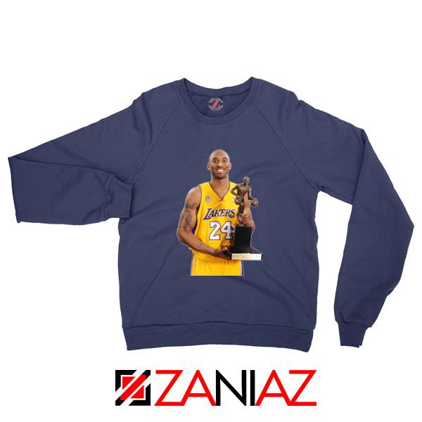 Bryant Trophy Lakers Navy Sweatshirt